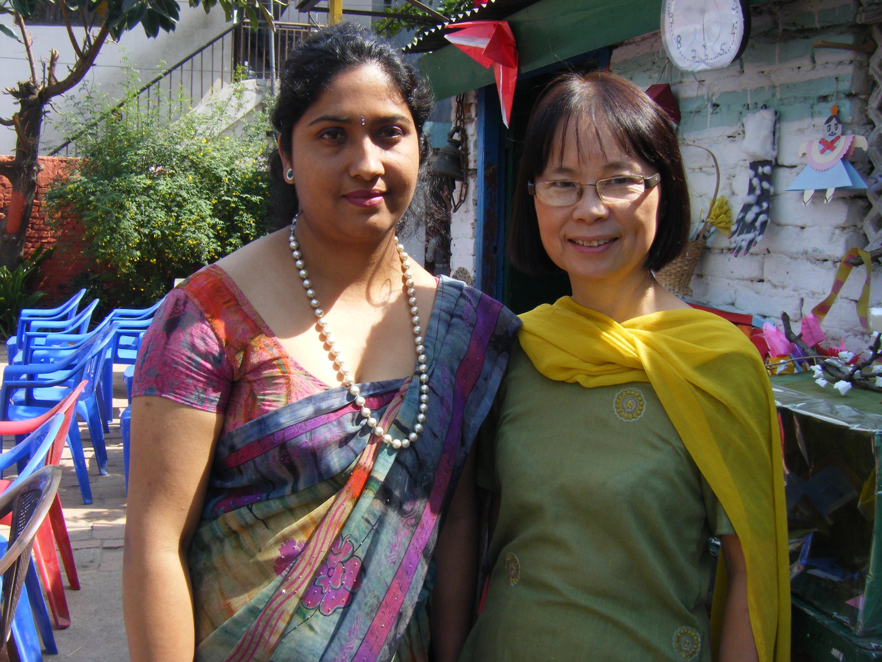 Anjana et Keiko